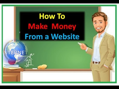 how to earn money from website visits how to make money from a website how to start a blog 2272