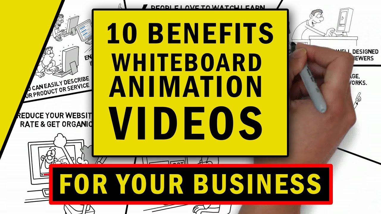 10 Benefits of Whiteboard Animation Video for Your Business